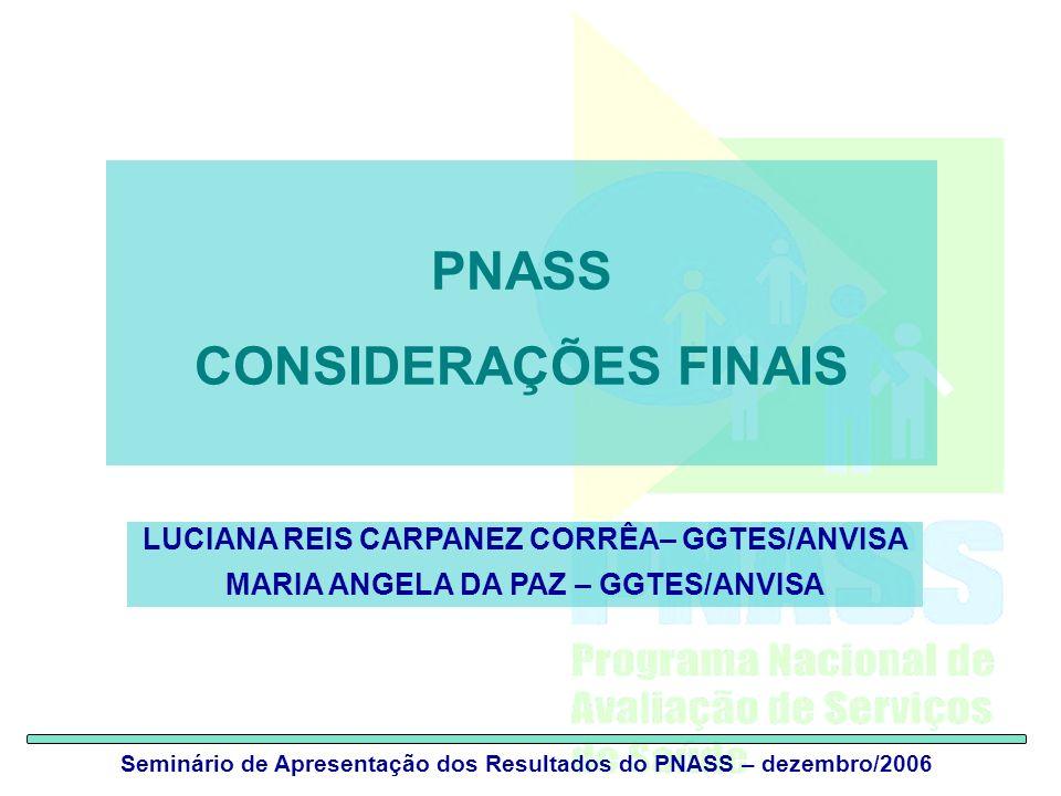 PNASS CONSIDERAÇÕES FINAIS