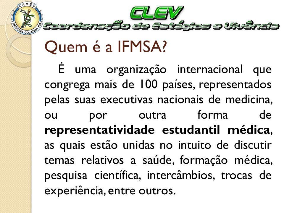 Quem é a IFMSA
