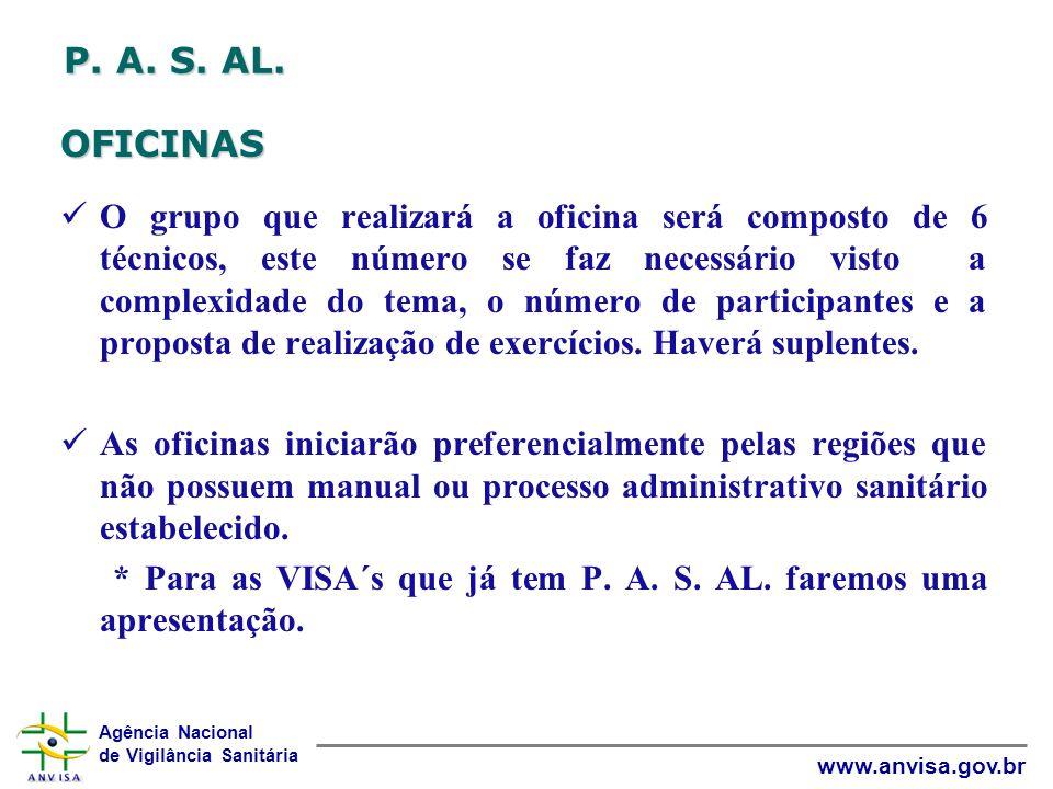 P. A. S. AL. OFICINAS.