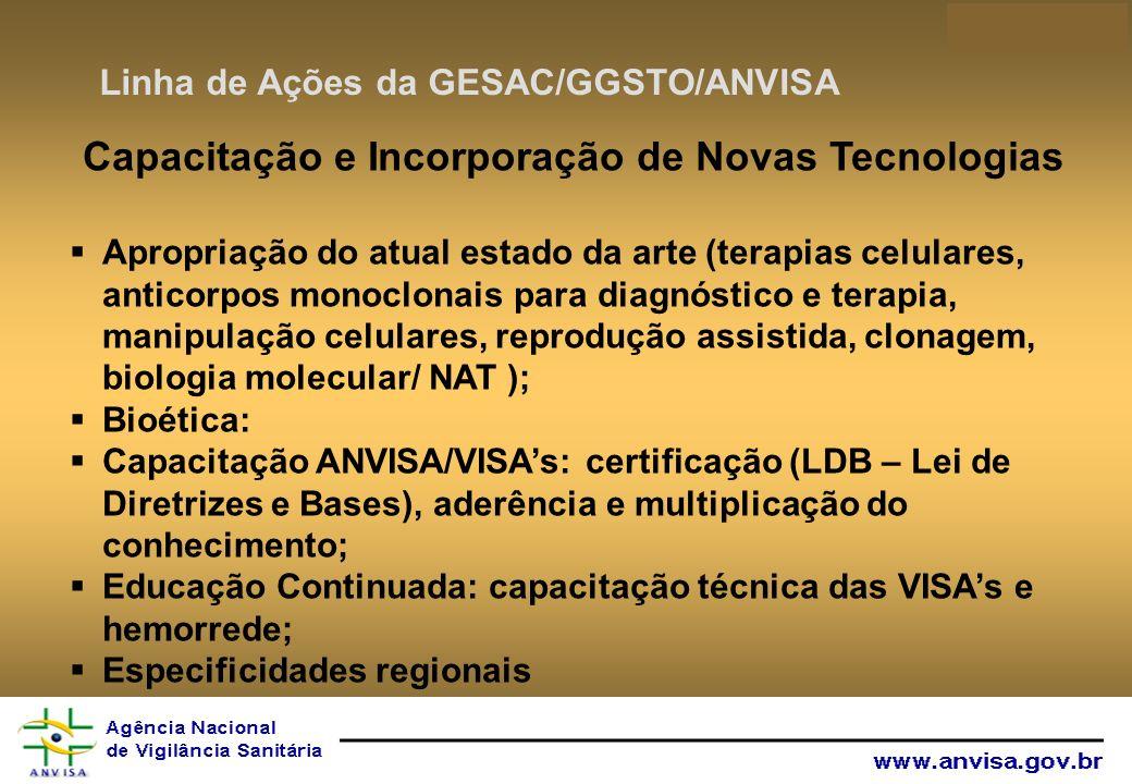 Capacitação e Incorporação de Novas Tecnologias