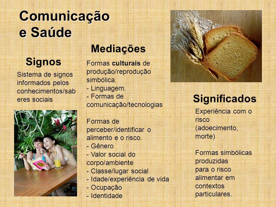 Comunicação e Saúde Mediações Signos Significados