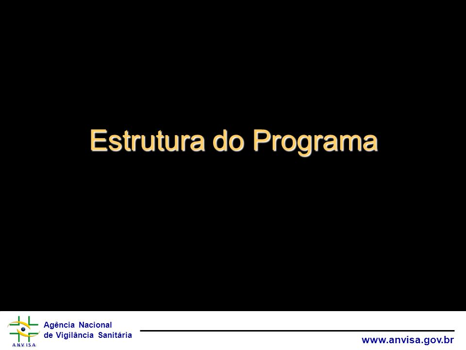 Estrutura do Programa