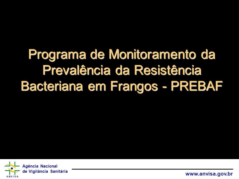 Programa de Monitoramento da Prevalência da Resistência Bacteriana em Frangos - PREBAF