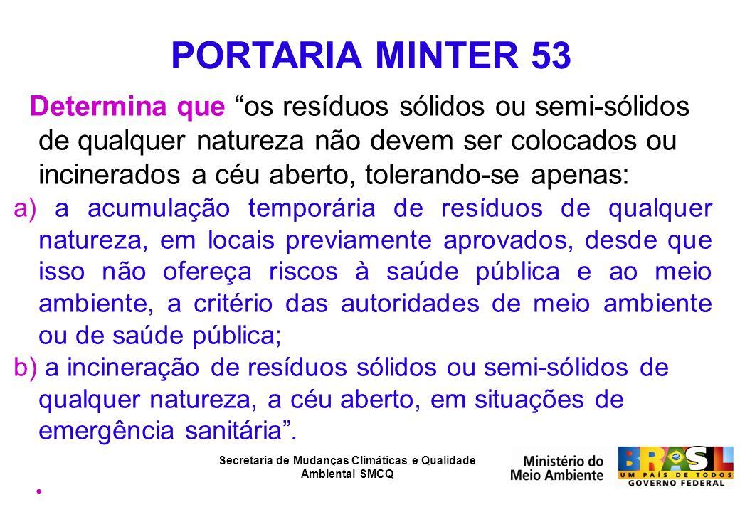 PORTARIA MINTER 53
