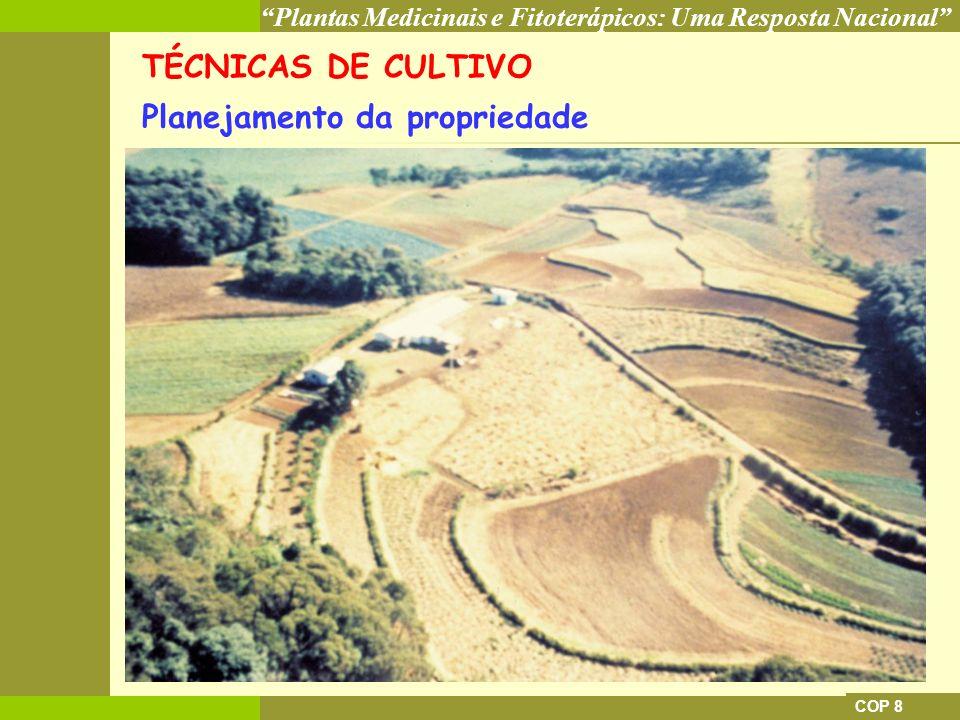 Planejamento da propriedade