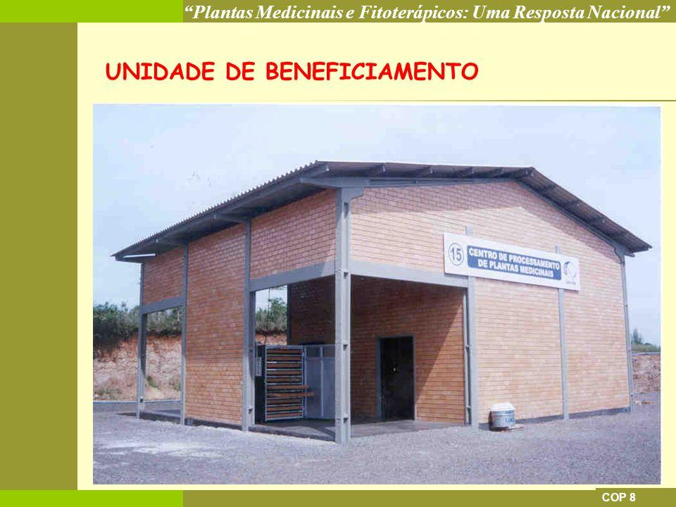 UNIDADE DE BENEFICIAMENTO
