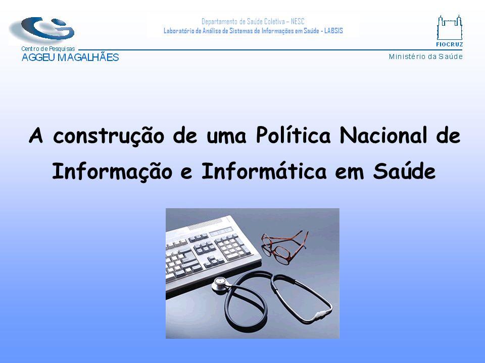 A construção de uma Política Nacional de Informação e Informática em Saúde