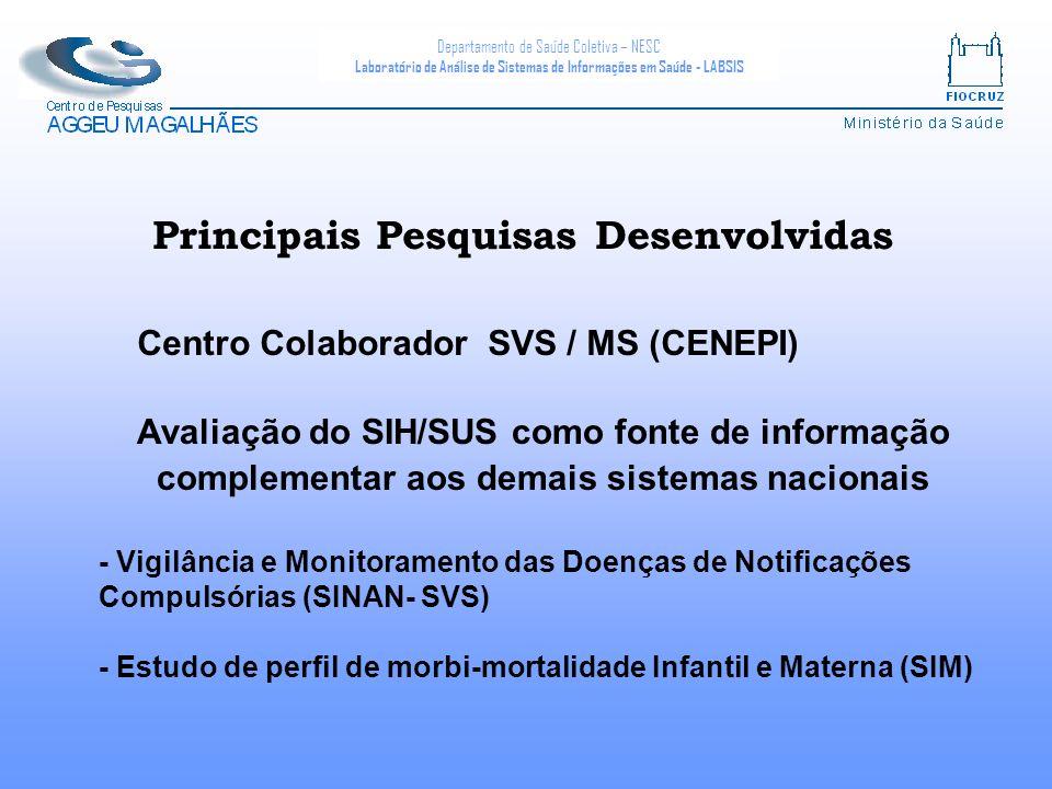 Centro Colaborador SVS / MS (CENEPI)
