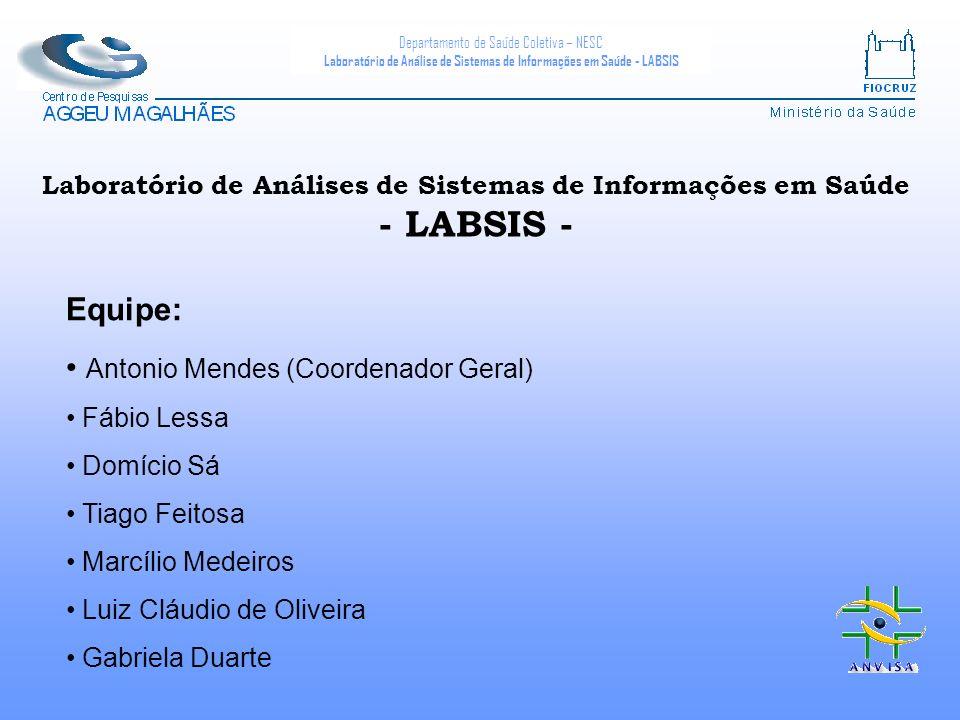 Laboratório de Análises de Sistemas de Informações em Saúde - LABSIS -