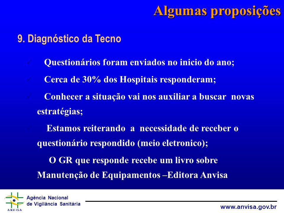 Algumas proposições 9. Diagnóstico da Tecno