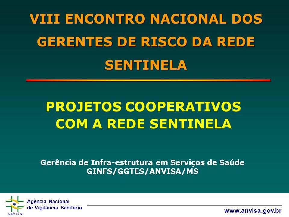 VIII ENCONTRO NACIONAL DOS GERENTES DE RISCO DA REDE SENTINELA