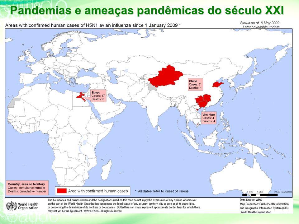 Pandemias e ameaças pandêmicas do século XXI