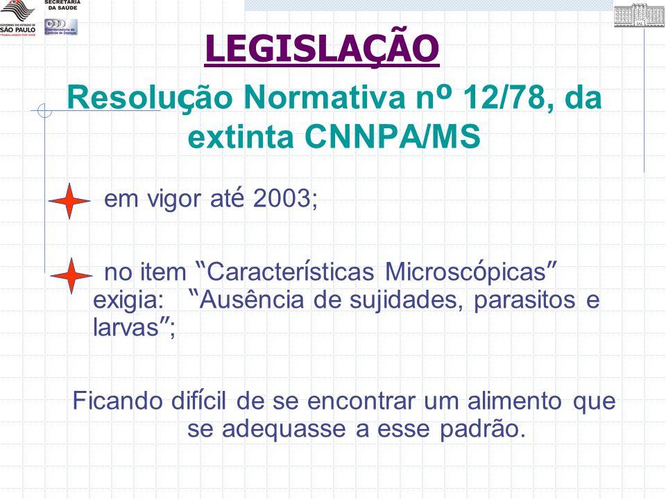 Resolução Normativa nº 12/78, da extinta CNNPA/MS