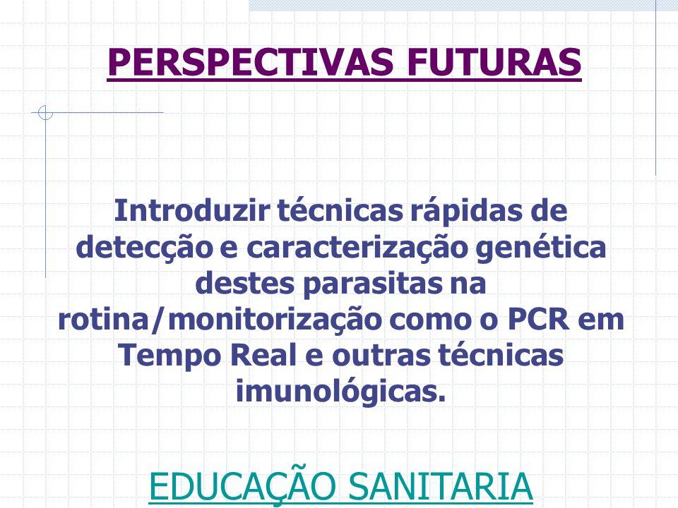 PERSPECTIVAS FUTURAS EDUCAÇÃO SANITARIA