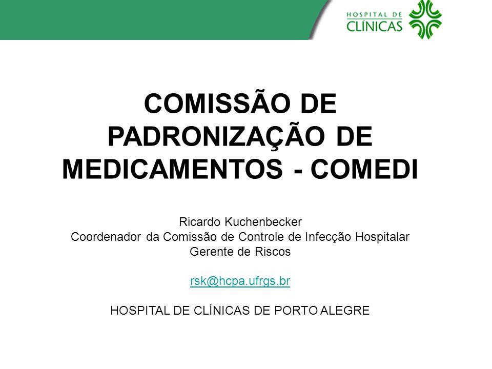 COMISSÃO DE PADRONIZAÇÃO DE MEDICAMENTOS - COMEDI