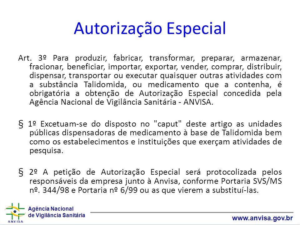 Autorização Especial