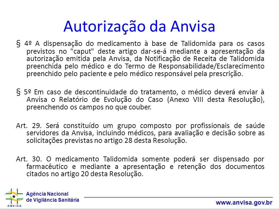 Autorização da Anvisa