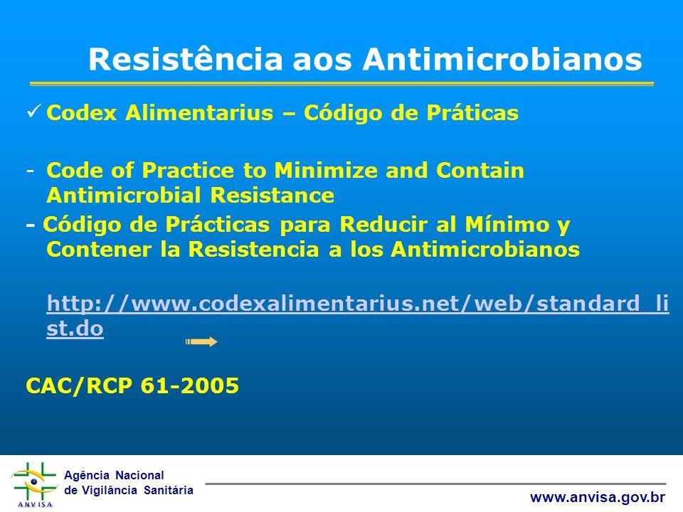 Resistência aos Antimicrobianos