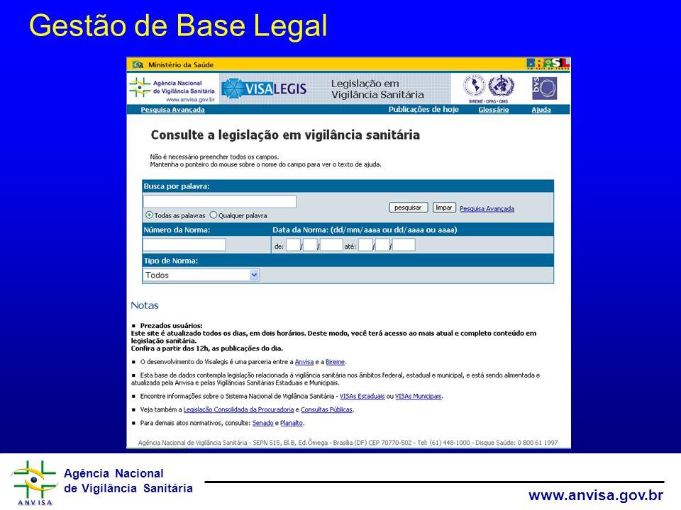 Gestão de Base Legal