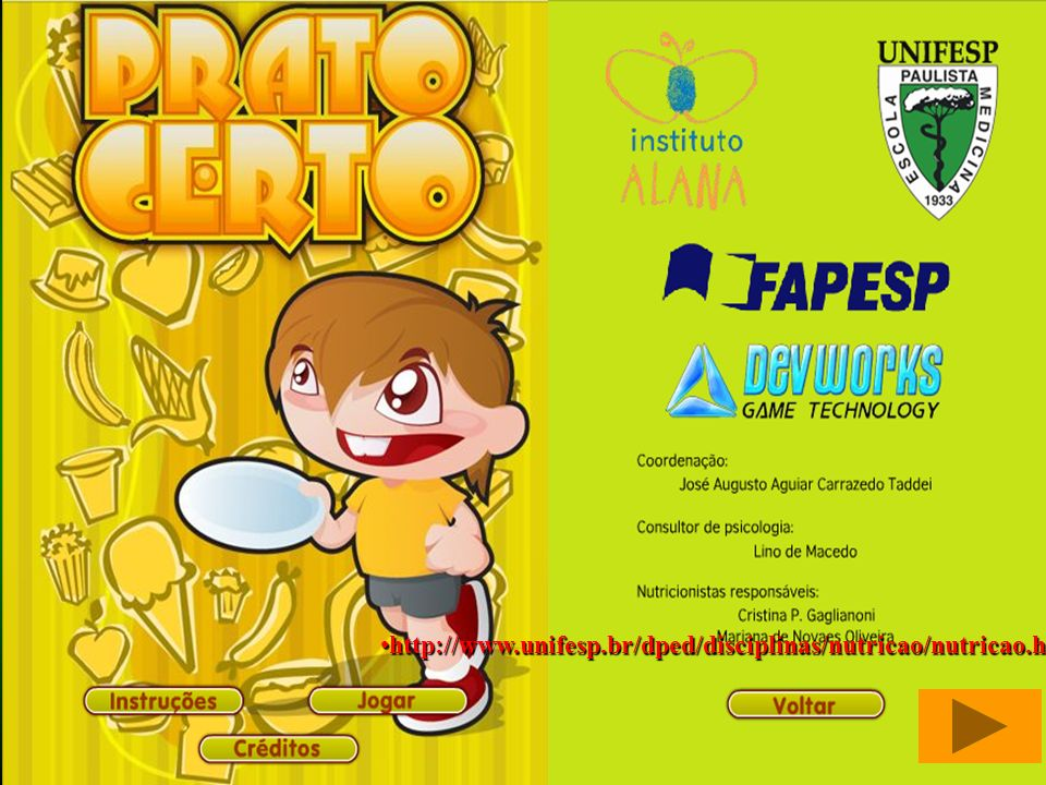 http://www.unifesp.br/dped/disciplinas/nutricao/nutricao.html