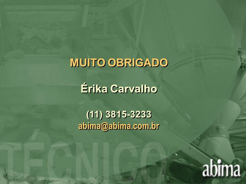 MUITO OBRIGADO Érika Carvalho