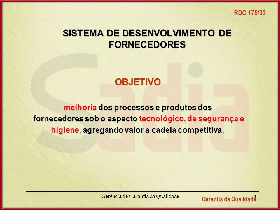 SISTEMA DE DESENVOLVIMENTO DE FORNECEDORES