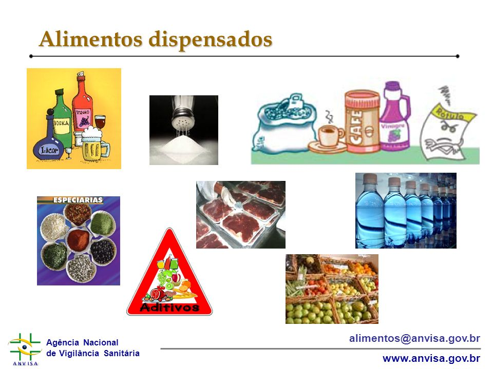 Alimentos dispensados