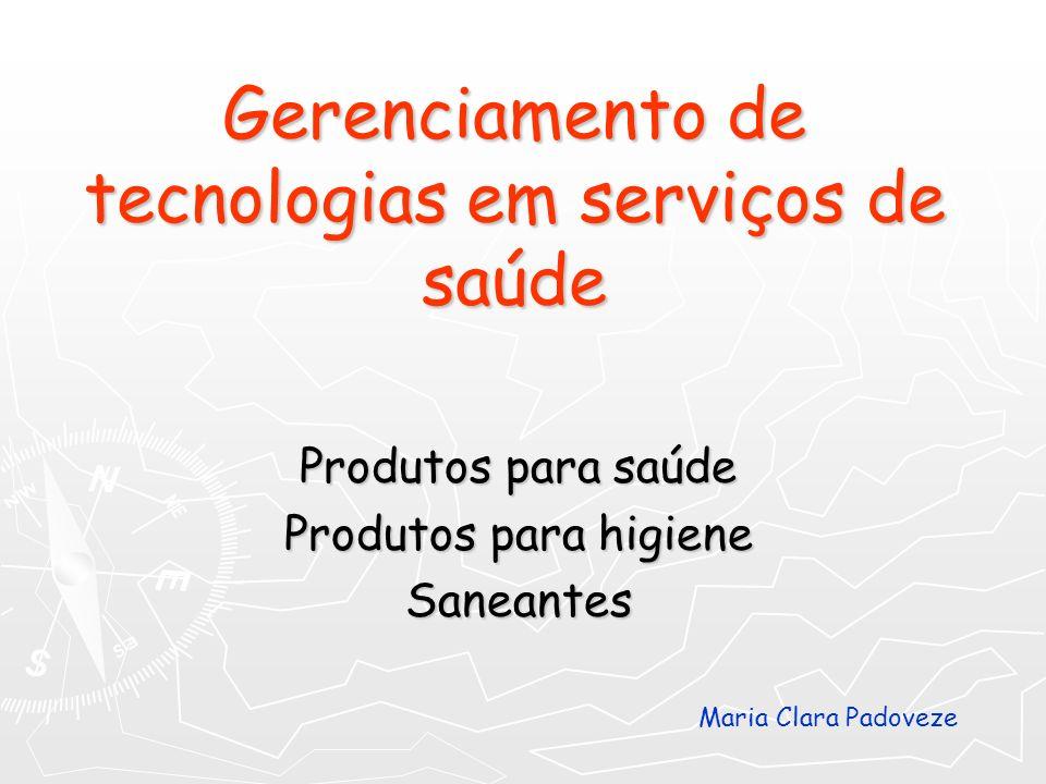 Gerenciamento de tecnologias em serviços de saúde