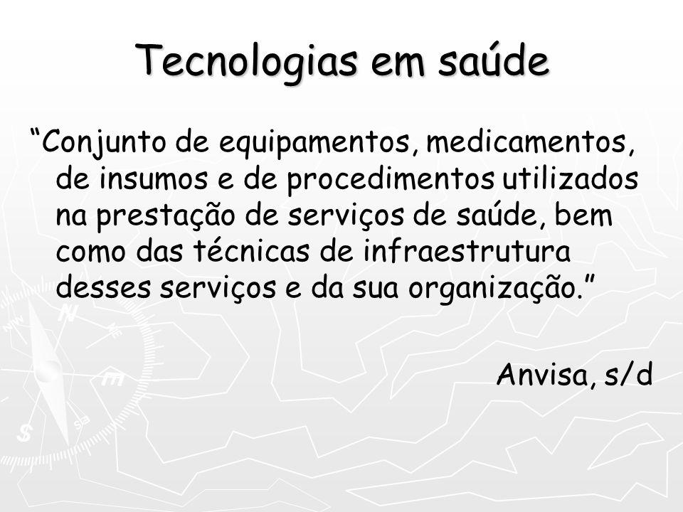 Tecnologias em saúde