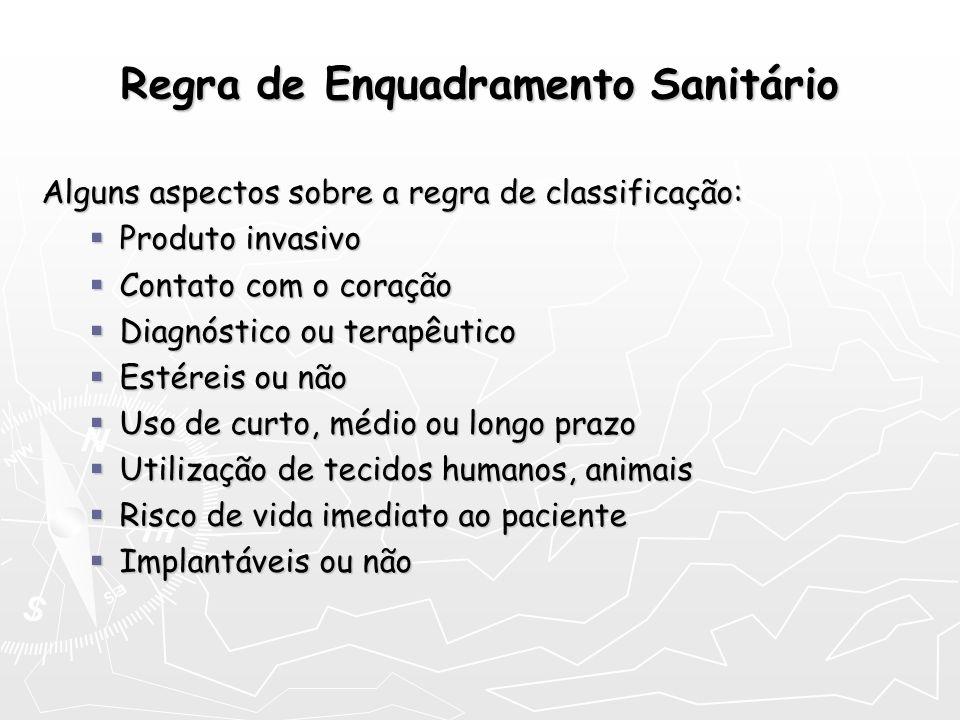 Regra de Enquadramento Sanitário