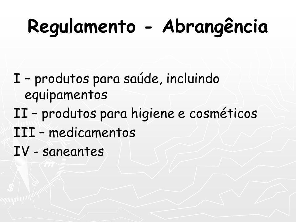 Regulamento - Abrangência