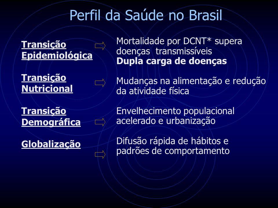 Perfil da Saúde no Brasil