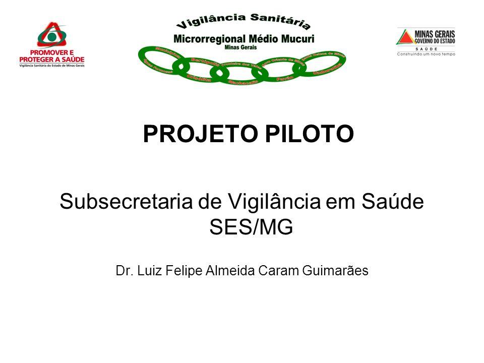 Subsecretaria de Vigilância em Saúde SES/MG