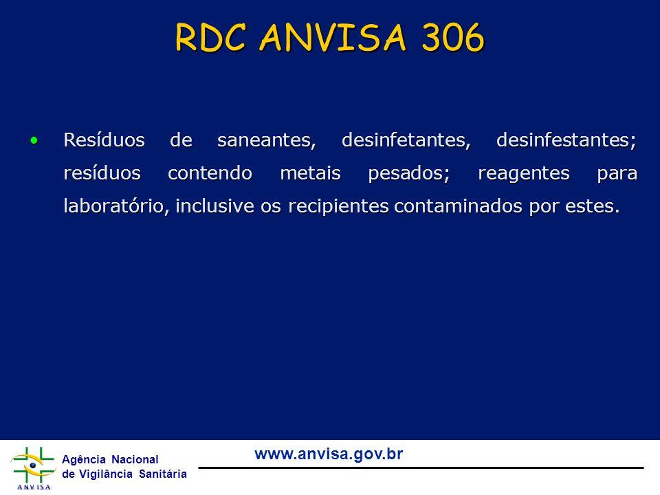 RDC ANVISA 306