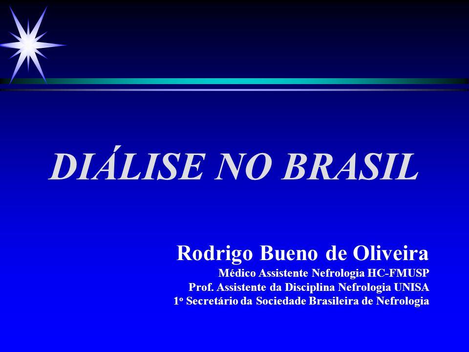 DIÁLISE NO BRASIL Rodrigo Bueno de Oliveira