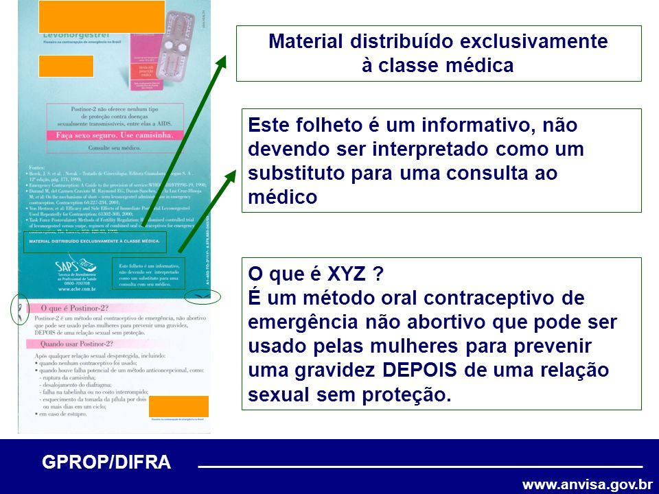 Material distribuído exclusivamente