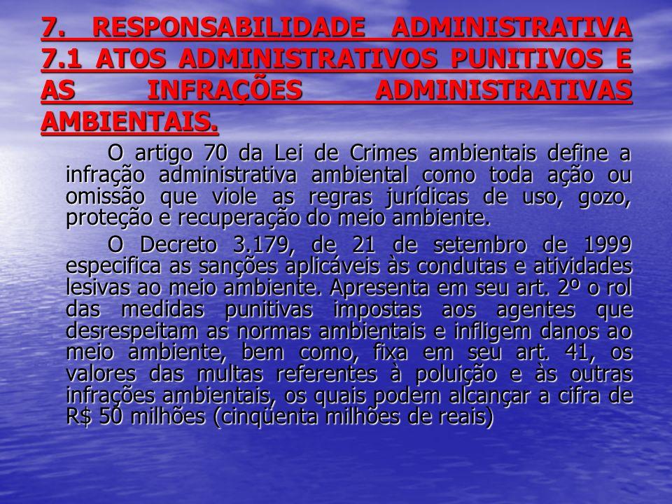 7. RESPONSABILIDADE ADMINISTRATIVA 7