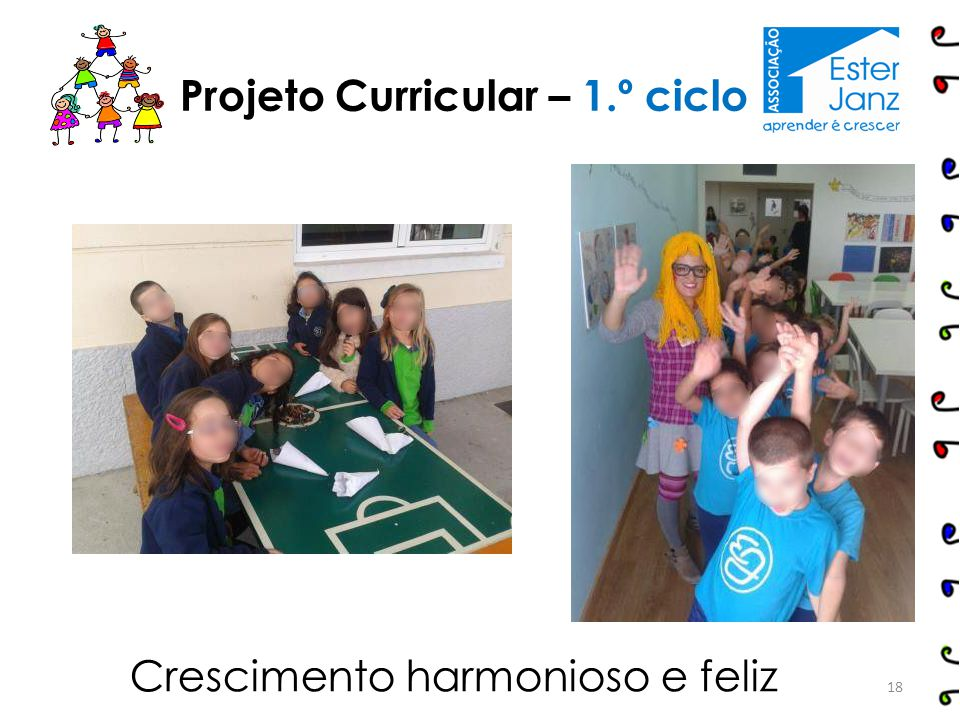 Projeto Curricular – 1.º ciclo