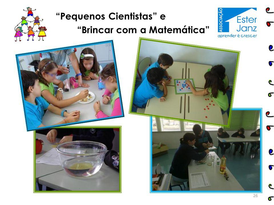 Pequenos Cientistas e