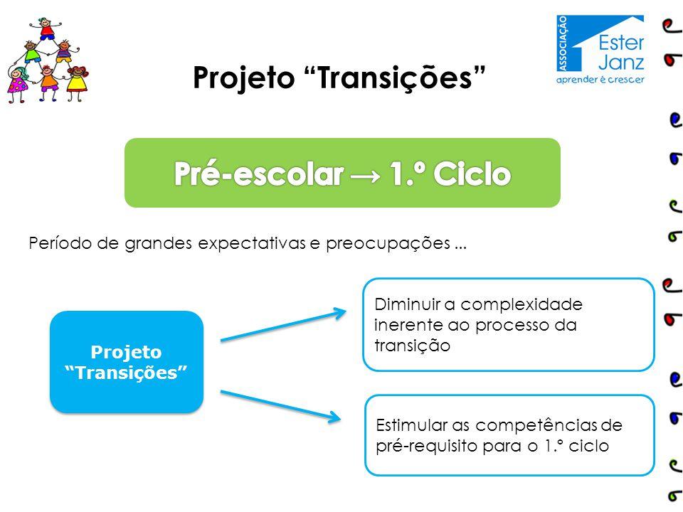Projeto Transições Pré-escolar → 1.º Ciclo