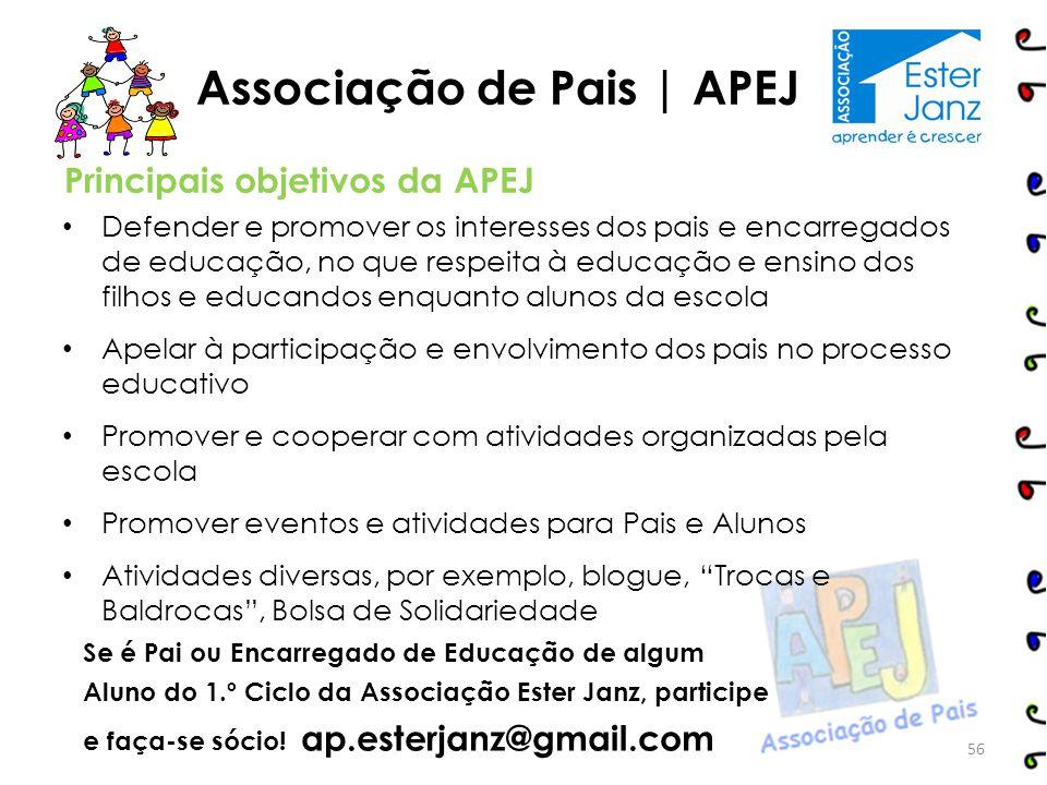 Associação de Pais | APEJ