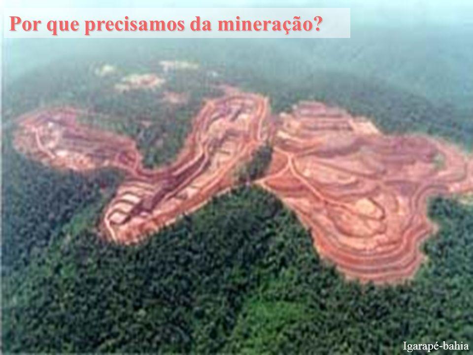Por que precisamos da mineração