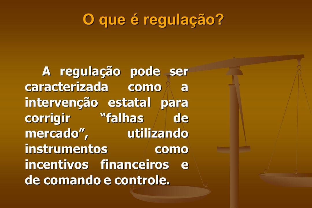 O que é regulação