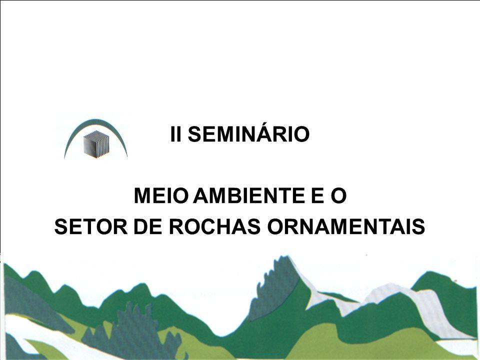 SETOR DE ROCHAS ORNAMENTAIS