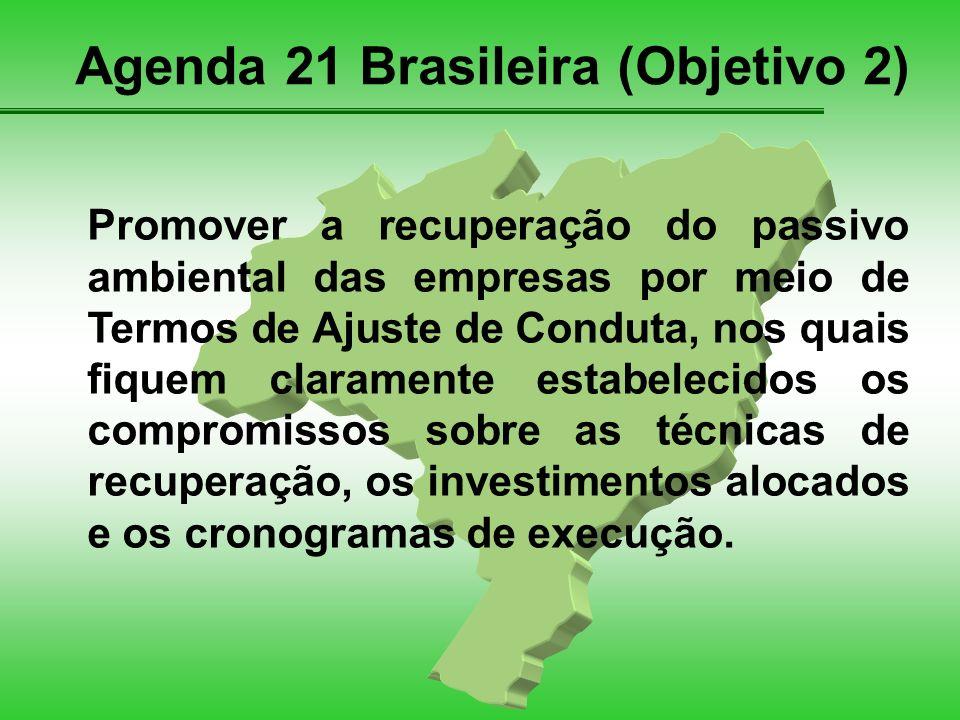 Agenda 21 Brasileira (Objetivo 2)