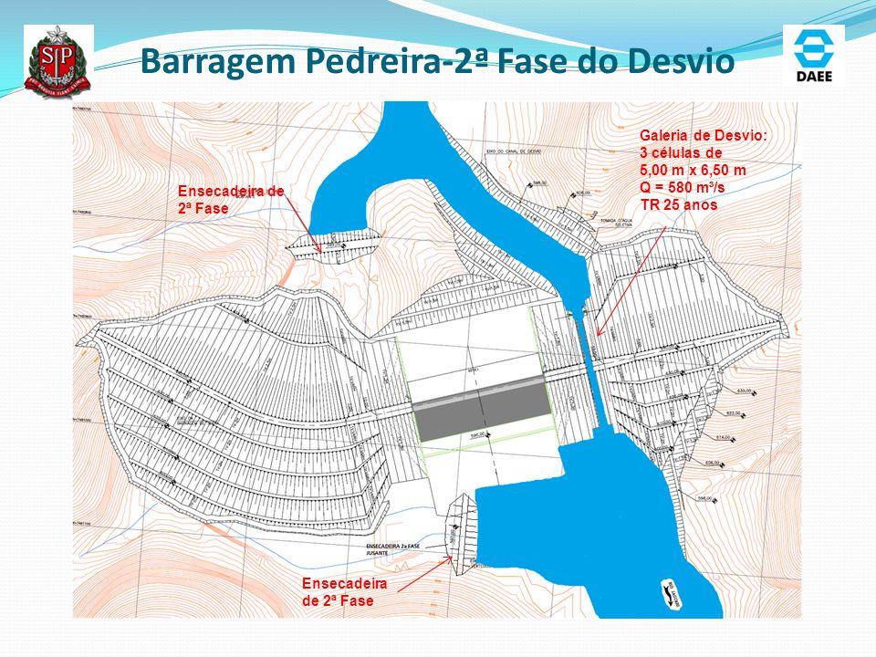 Barragem Pedreira-2ª Fase do Desvio