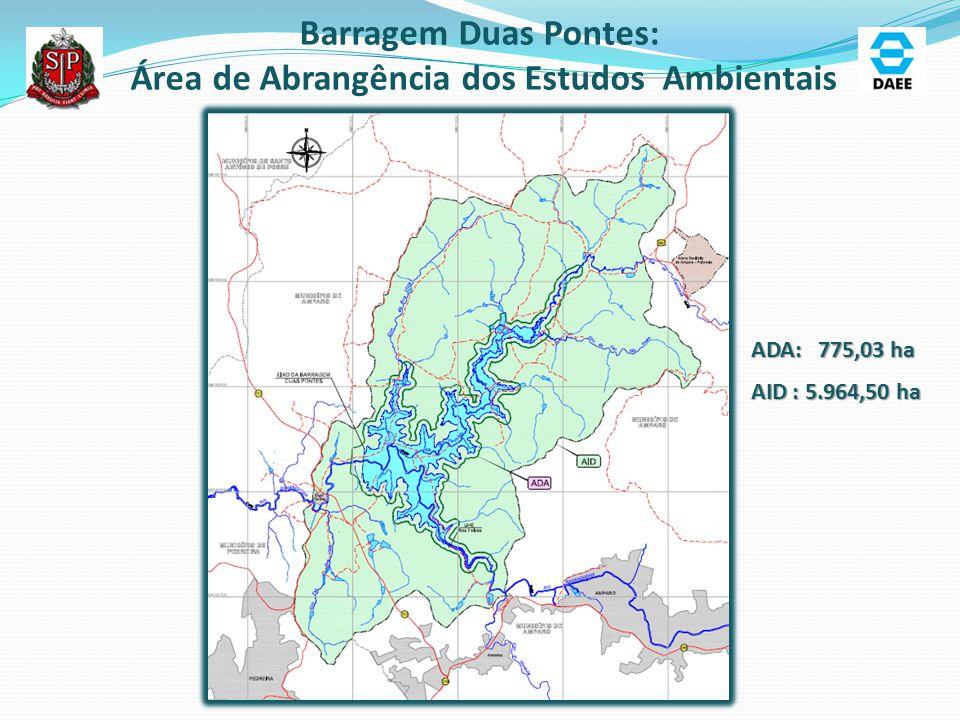 Área de Abrangência dos Estudos Ambientais