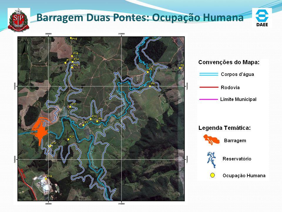 Barragem Duas Pontes: Ocupação Humana
