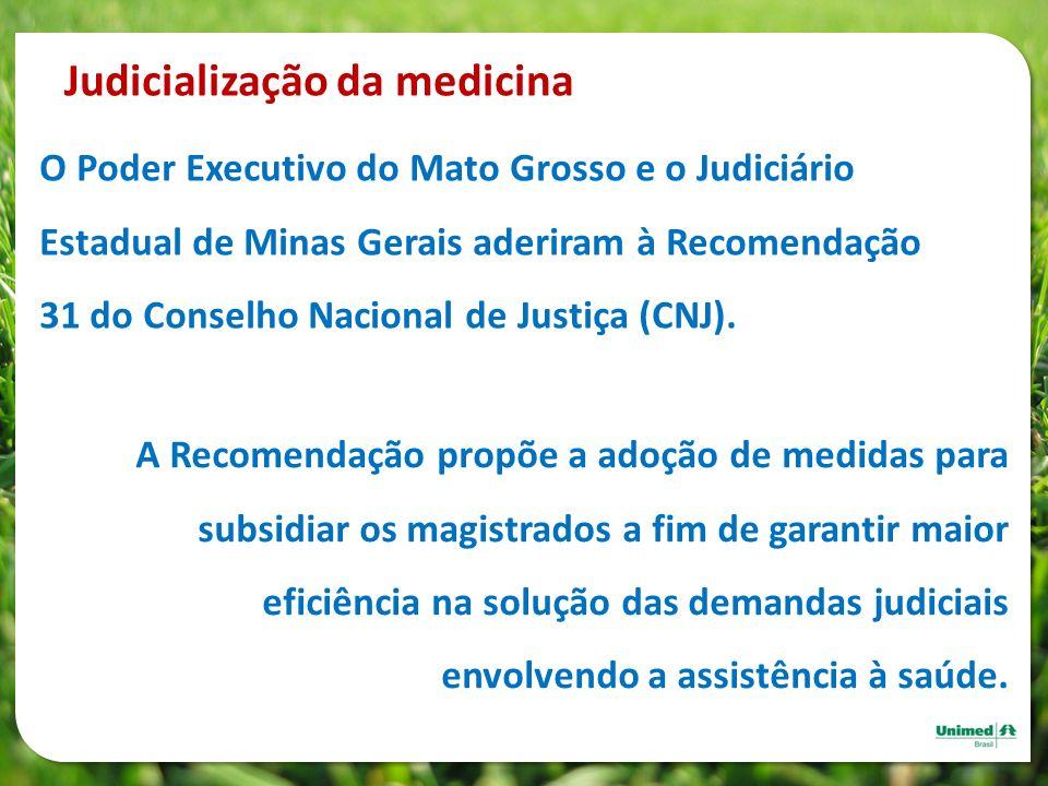 Judicialização da medicina