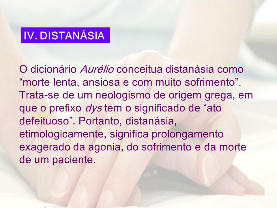 IV. DISTANÁSIA